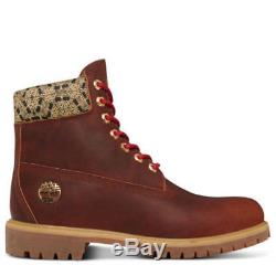 Timberland Limited Release Cny Brown Gold 6-inch Prm Bottes En Cuir Hommes Sz 8.5-12