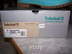 Timberland Limited Release Mens Blue Waterproof Lace Up Boots Taille 11 M (nouveau)