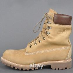 Timberland Made In USA 8 Pouces Boot Imperméable. Wicket Crate (blé) Taille 9m