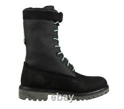 Timberland Mens 6 Pouces Rsvp Galerie Gaiter Black Boot Taille 10,5