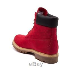 Timberland Mens Edition Limitée Red Valentines Exclusive Premium 6 Pouces USA