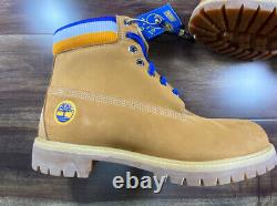 Timberland Mitchell & Ness Nba Golden State Warriors Leather Boots Tan Taille 12