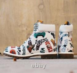 Timberland Mitchell & Ness X Nba East Meets West 6-inch Premium Boots A1ud6
