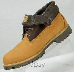 Timberland Roll Top Mens 48520 6 Bottes Taille 12m Blé / Brown Nubuck