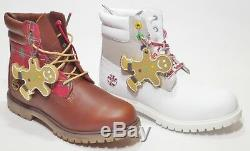 Timberland Sugar And Spice Holiday Edition Homme Imperméable 6 Pouces Blanc / Marron
