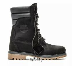 Timberland Super Boot # A1ucy Noir 40 Ci-dessous Shearling Hommes 11 Ronnie Fieg