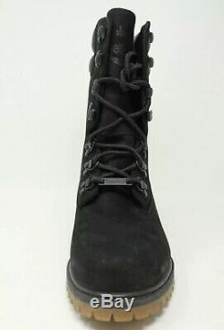 Timberland Super Boot # A1ucy Noir 40 Ci-dessous Shearling Ronnie Fieg Multi Tailles