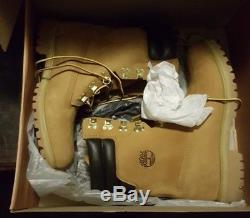 Timberland Super Boot Wheat Nubuck À Diffusion Limitée Taille 11 Tb06842a