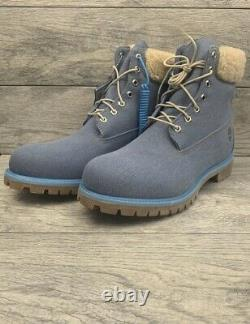 Timberland X Just Don Premium 6 Denim Boots Taille Homme 8.5 Blue A1uxu