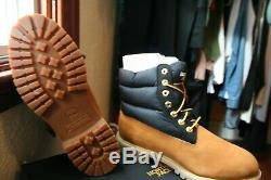 Timberland X L'édition Limitée North Face 6 Puffer Bottes (hommes Us 10)