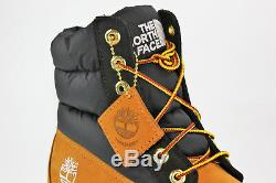 Timberland X The North Face Nuptse Puffer 700 Spruce Jaune 6 Pouces Boot